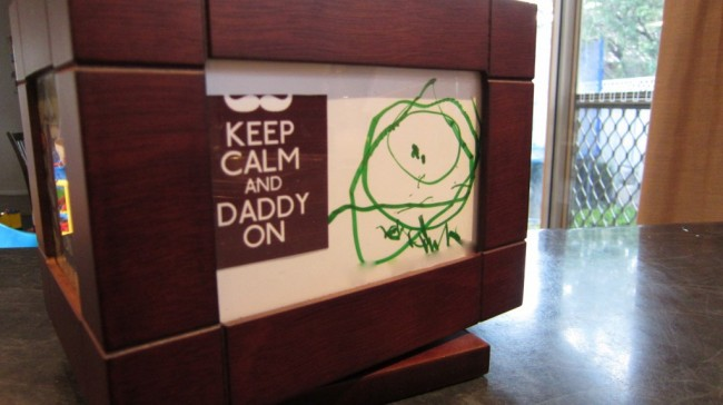 Fathers Day gift: keep calm and daddy on 03