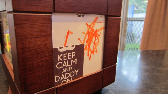 Fathers Day gift: keep calm and daddy on 02