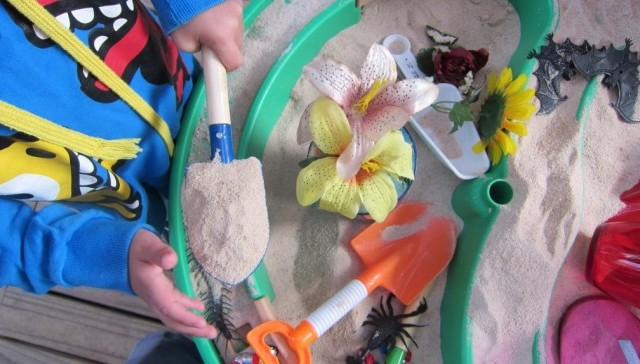 Sand Table Play: Operation Desert Bloom