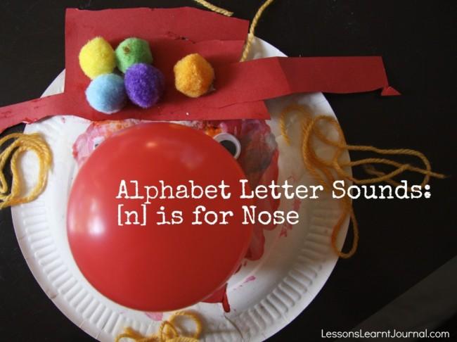 Alphabet Letter Sounds n