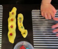 play dough rainbow serpents Lessons Learnt Journal