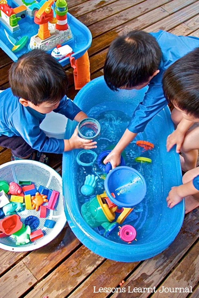 Water Play Toys Lessons Learnt Journal