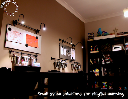 Small Space Solutions for Playful Learning