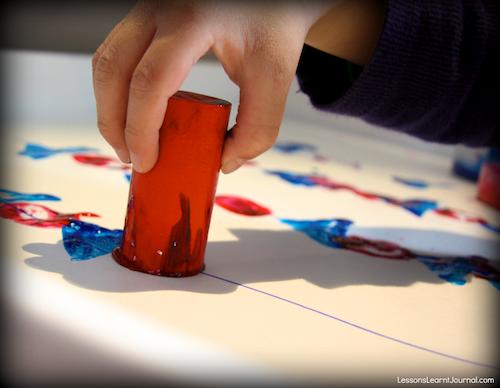 Kindergarten Math: Patterns and Algebra with Block Printing