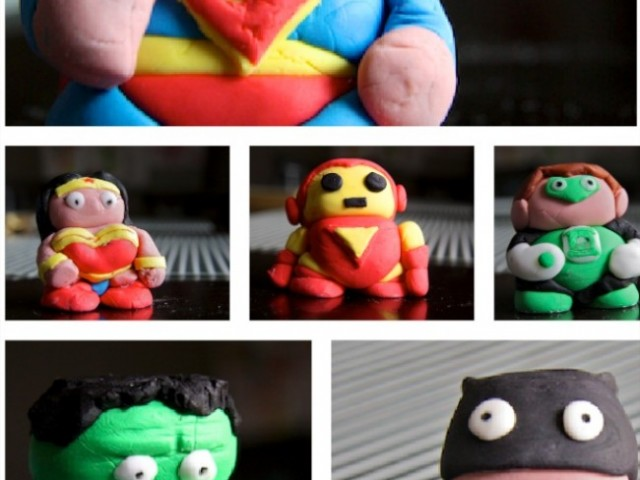 Cake Decorating: Superhero Modelled Figures
