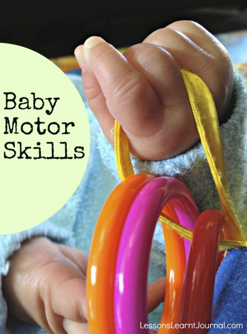 Baby Motor Skills Lessons Learnt Journal