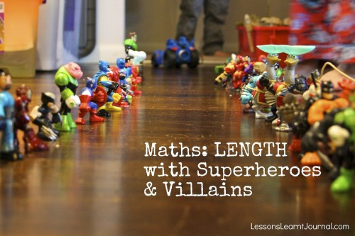 Maths Length with superheroes and villains Lessons Learnt Journal