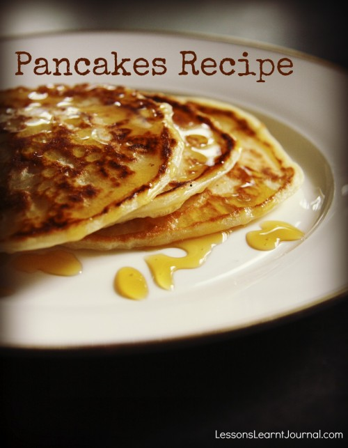 Pancakes Recipe LLJournal