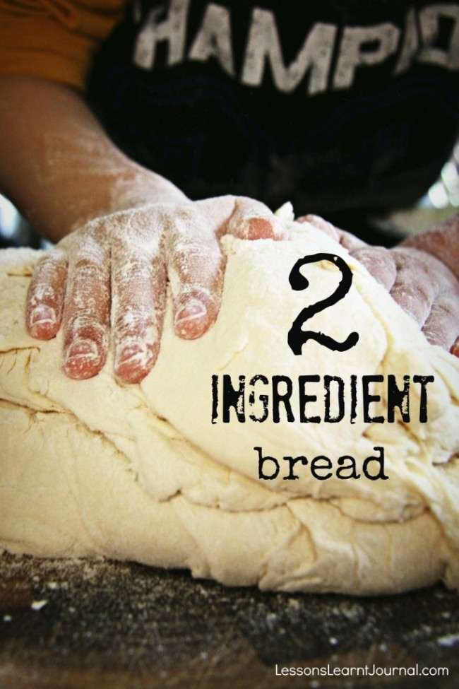 2 Ingredient Bread Lessons Learnt Journal