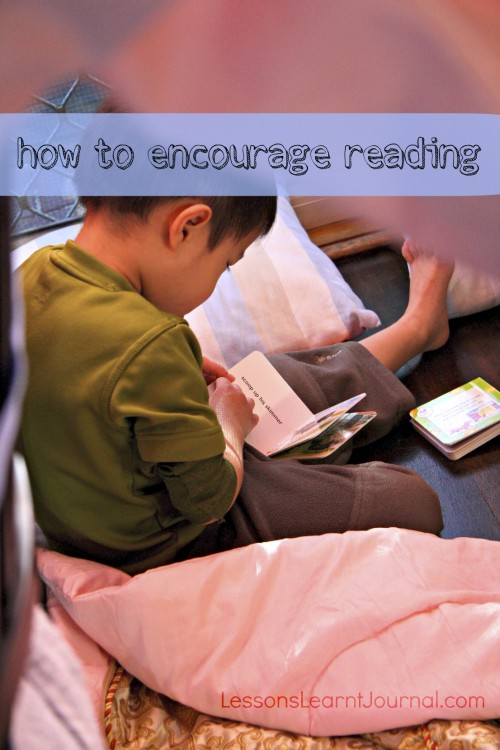 Books How to Encourage Reading Lessons Learnt Journal