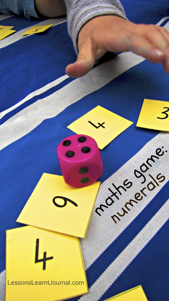 Maths Numeral Card Game LessonsLearntJournal
