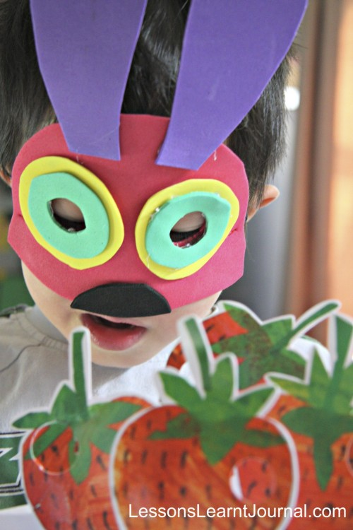 The Very Hungry Caterpillar: Quick No Sew Costume