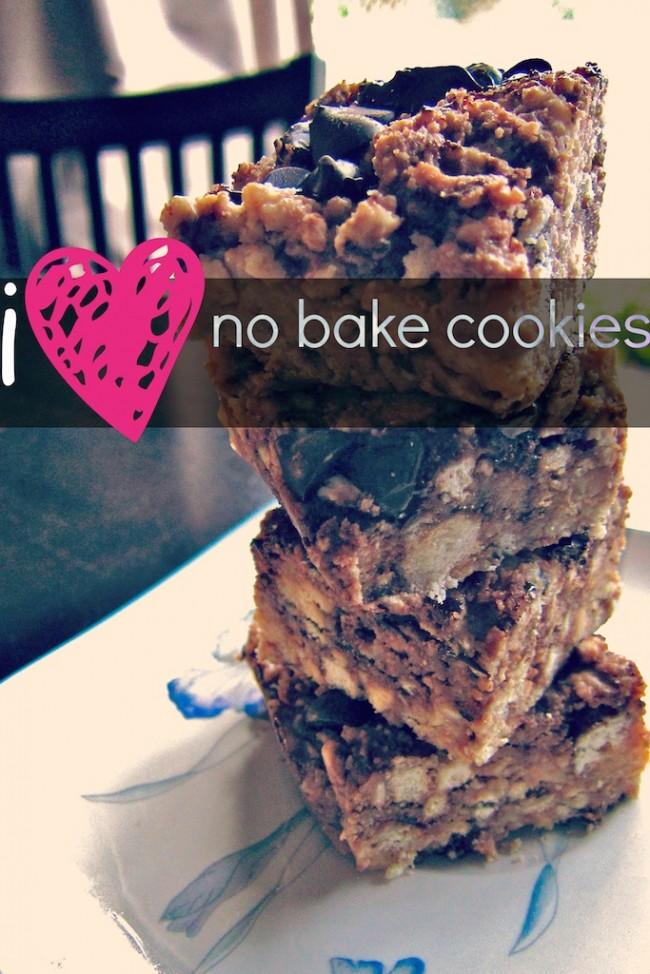 no bake cookies LessonsLearntJournal
