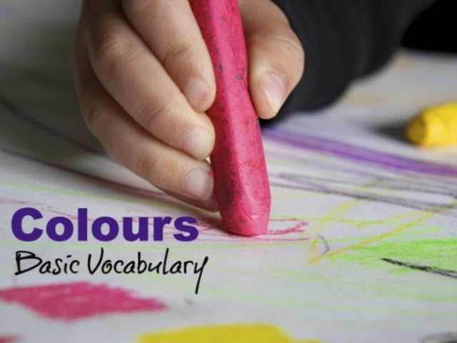 Colours: Vocabulary for Beginning Readers