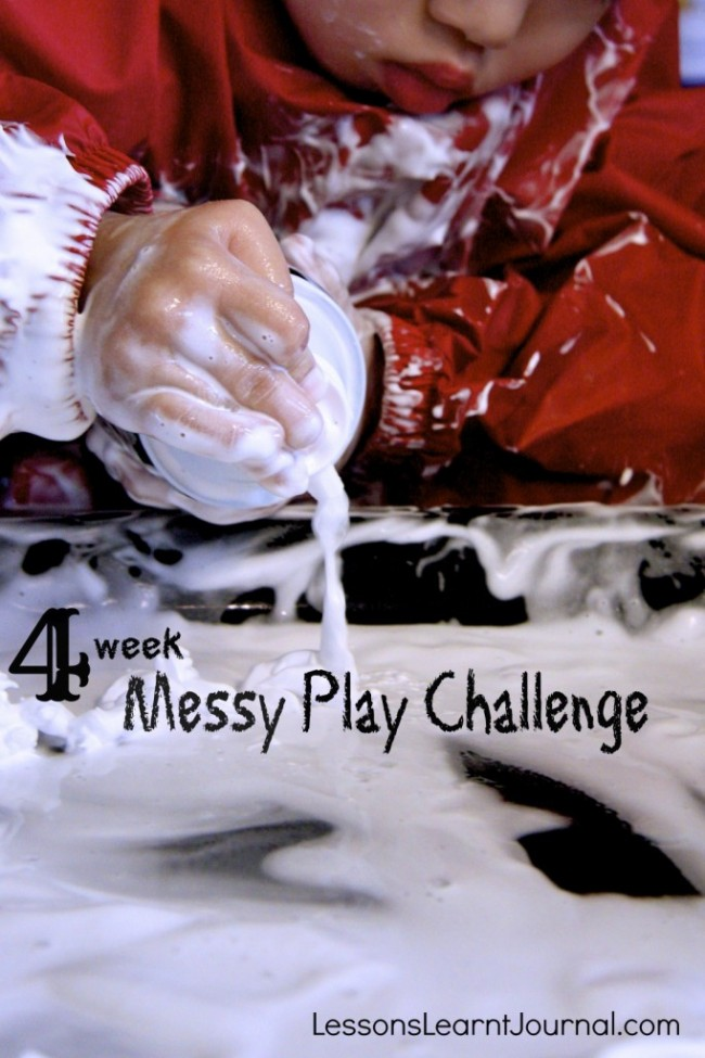 Messy Play Challenge LessonsLearntJournal