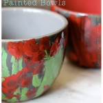 DIY Christmas Gifts Painted Bowls LessonsLearntJournal