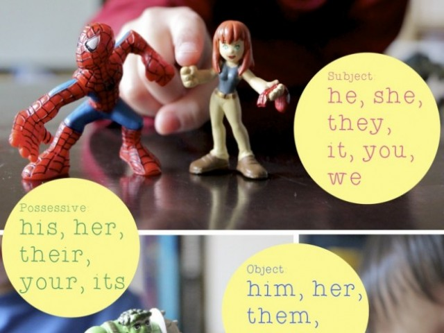 Pronouns: Vocabulary for Beginning Readers