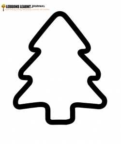 ... each DIY Christmas Tree, print out four DIY Christmas tree templates