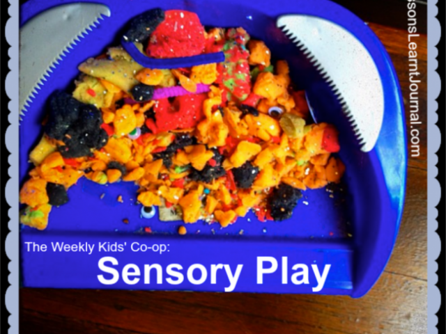 The Weekly Kids' Co-op: Sensory Play