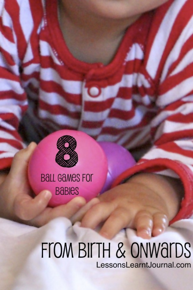 Baby Toys Ball Games for Babies LessonsLearntJournal