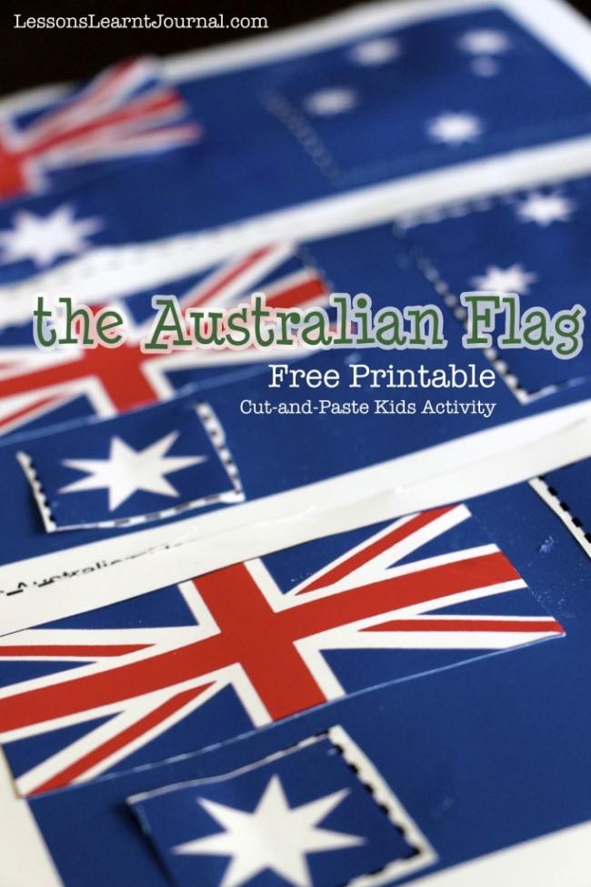 Australian Flag Free Printable LessonsLearntJournal