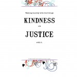 Love Kindness Do Justice Walk Humbly
