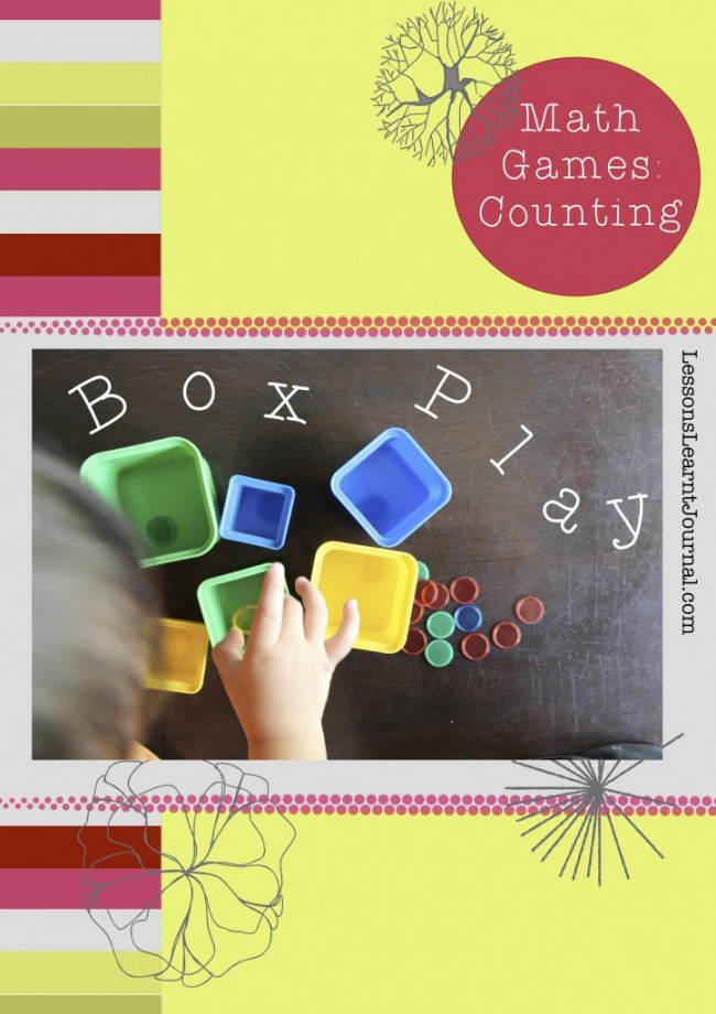 Math Games Counting Box Play LessonsLearntJournal