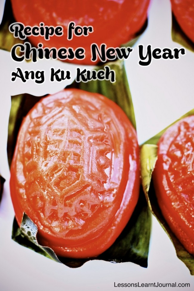 Recipe Chinese New Year Ang Ku Kueh LessonsLearntJournal