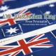 Australian Flag: Free Printable