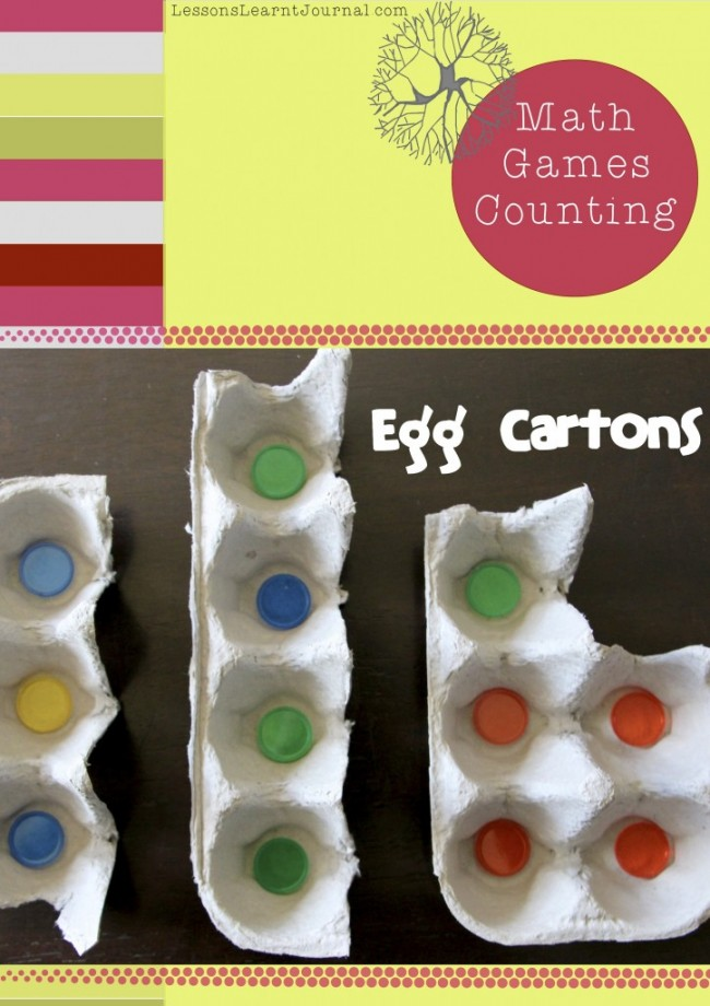 Math Games Counting Egg Cartons LessonsLearntJournal