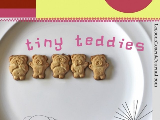 Math Games: Counting, Tiny Teddies