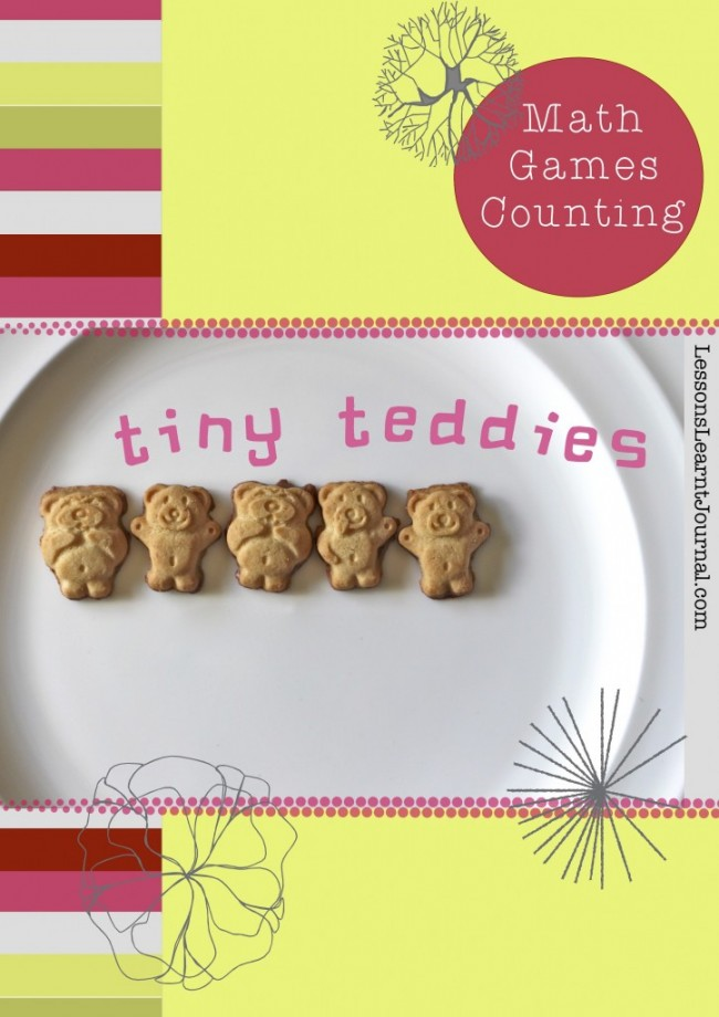 Math Games Counting Tiny Teddies LessonsLearntJournal