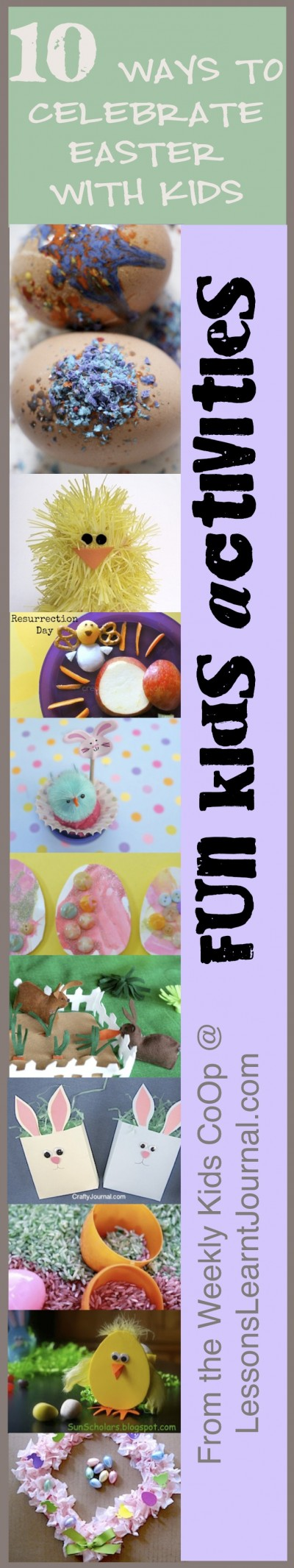 Easter for Kids Lessons Learnt Journal