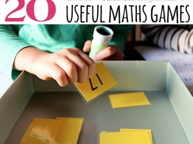 Activities for Children: Maths Games