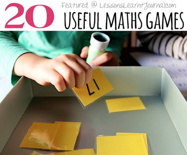 Activities for Children Maths Games Lessons Learnt Journal (1)