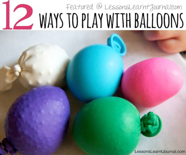 Activities For Children: Balloon Games