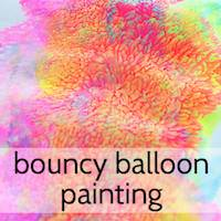 Bouncy Balloon Painting by Picklebums