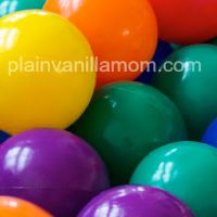 10 ways to play with ball pits by Plain Vanilla Mom