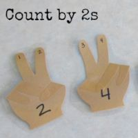 Helping Hands for Skip Counting by Boy Mama Teacher Mama