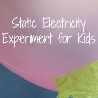Static Electricity by Kids Activities Blog