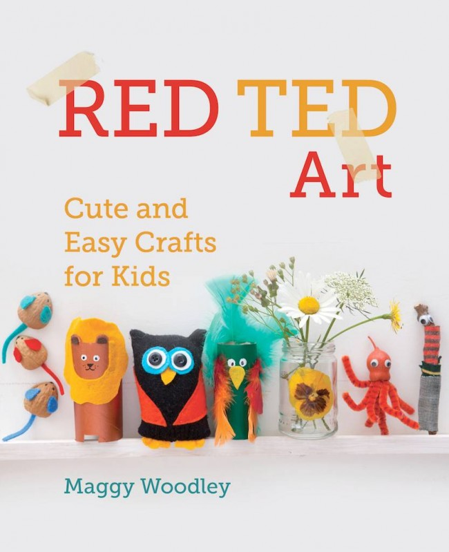 Hobby horse from red ted art for Art and craft books for kids