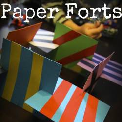 Paper Craft: Forts by Lessons Learnt Journal