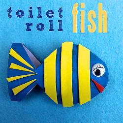 Toilet Roll Fish by The Craft Train