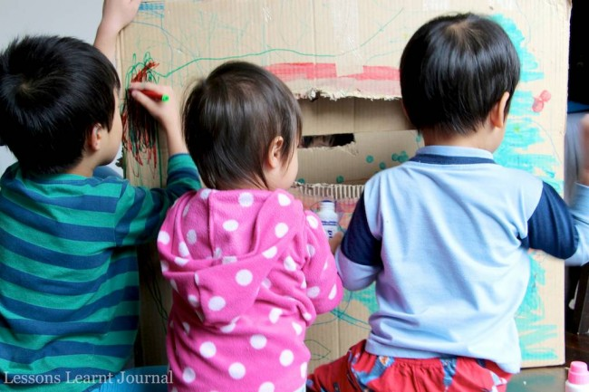 Baby Play Big Cardboard Box via Lessons Learnt Journal 02 (1)