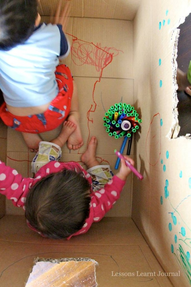 Baby Play Big Cardboard Box via Lessons Learnt Journal 03 (1)