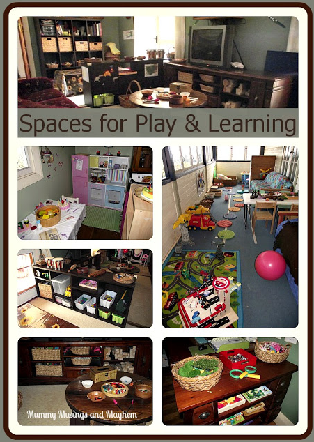 Setting up play spaces for home day care via Mummy Musings and Mayhem