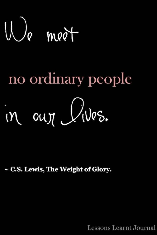 We Meet No Ordinary People In Our Lives Lessons Learnt Journal (1)