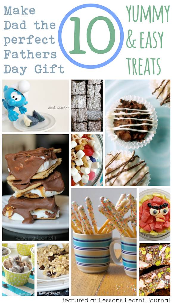 Fathers Day Gifts: 10 Yummy & Easy Treats