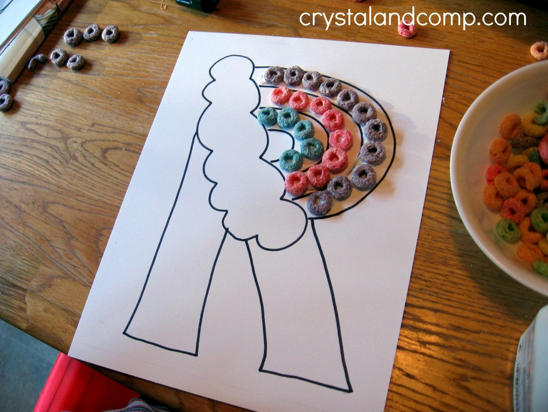 Preschool Craft via Crystal and Co