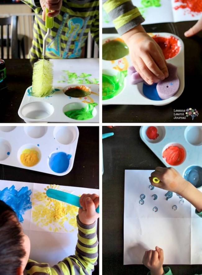 Fine Motor Activity Exploring Painting Tools via Lessons Learnt Journal 03 (1)